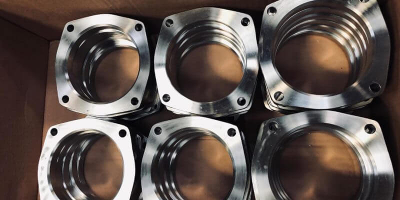 304L exhaust flanges manufactured