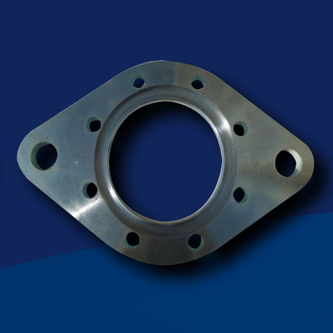 grooved oval and round flange