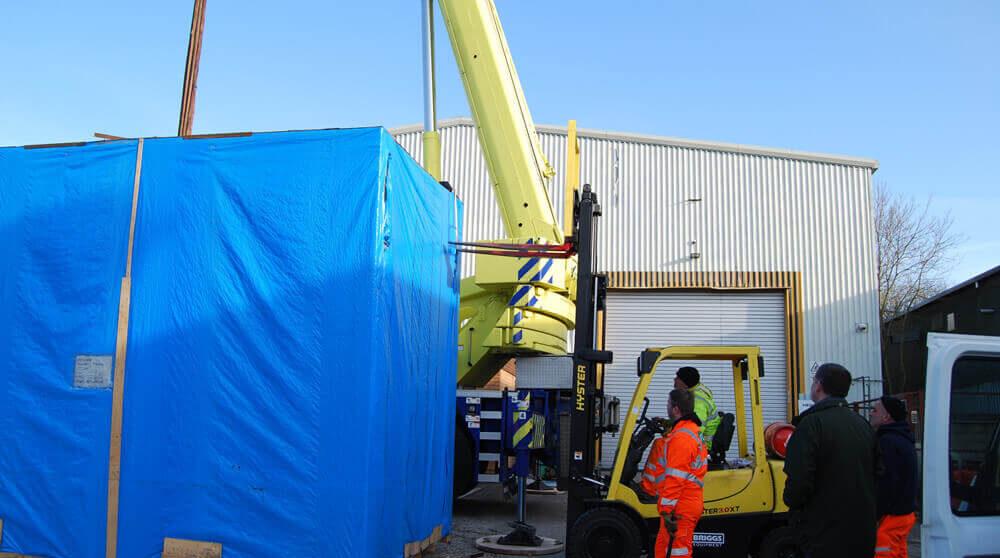 CNC vertical machining centre 01